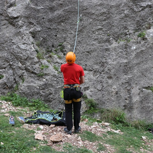 Belaying in Diarizos